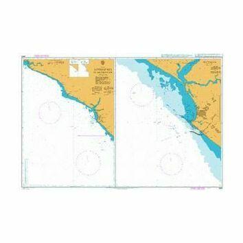 3648 Approaches to Buchanan Admiralty Chart