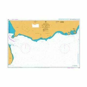 3661 Bab el Mandeb to Aden Harbour Admiralty Chart