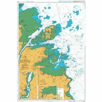 3673 Ile de Brehat & Anse de Paimpol, Lezardrieux Admiralty Chart