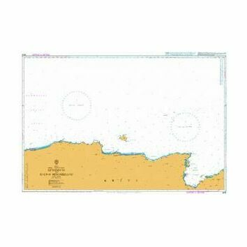 3678 North Coast Rethimnon to Kolpos Merambellou Admiralty Chart