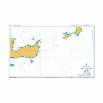 3679 Nisos Kriti to Nisos Karpathos Admiralty Chart