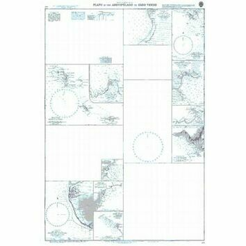 369 Plans in the Arquipelago de Cabo Verde Admiralty Chart