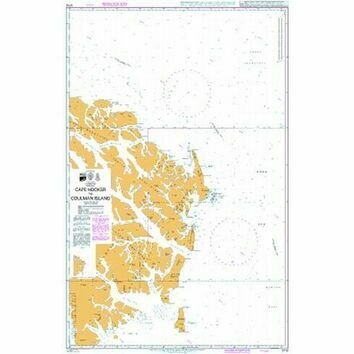 3710 Cape Hooker to Coulman Island Admiralty Chart