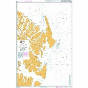 3711 Cape  Adare to Cape Daniell Admiralty Chart