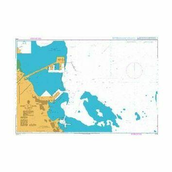 3718 Port of Al Jubayl Admiralty Chart