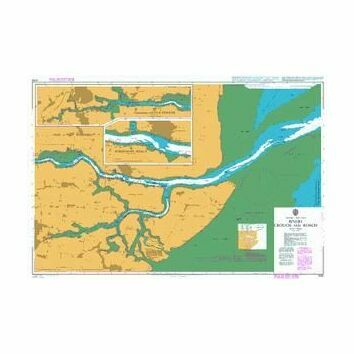 3750 Rivers Crouch and Roach Admiralty Chart