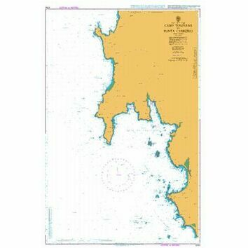 3764 Cabo Torinana to Punta Carreiro Admiralty Chart