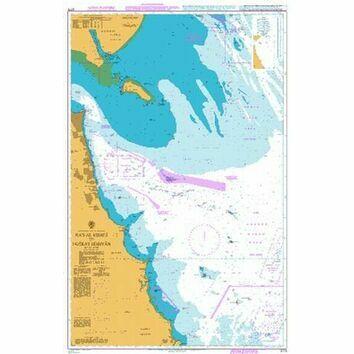 3773 Ra's Al Khafji to Jazirat Bubiyan Admiralty Chart