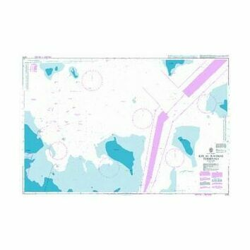 3776 Ra's al Ju`aymah Terminals Admiralty Chart