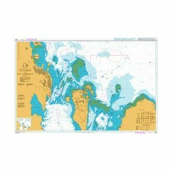 3790 Ra's Raken to Ra's Tannurah Admiralty Chart