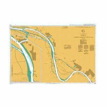 3845 Abadan to Jazirat Umm at Tuwaylah Admiralty Chart