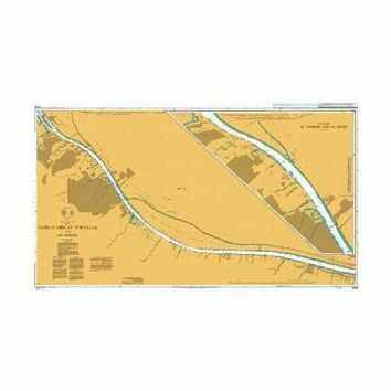 3846 Jazirat Umm at Tuwaylah to Al Ma`qil Admiralty Chart