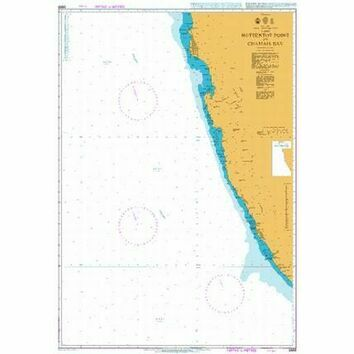 3869 Hottentot Point to Chamais Bay Admiralty Chart
