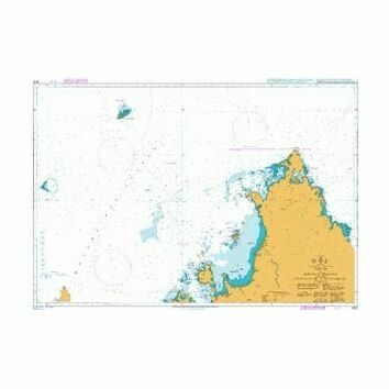 3876 Nosy Be to Baie d\'Antsiranana, including Recif du Geyser and Iles Glorieuses Admiralty Chart
