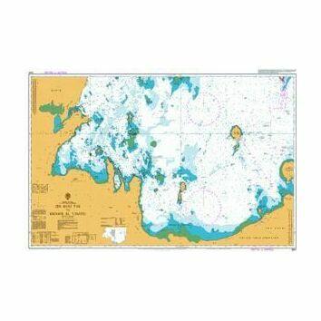 3951 Sir Bani Yas to Khawr al `Udayd Admiralty Chart