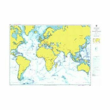 4001 Atlantic and Indian Oceans - Admiralty Chart