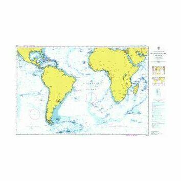 4003 South Atlantic Ocean Admiralty Chart