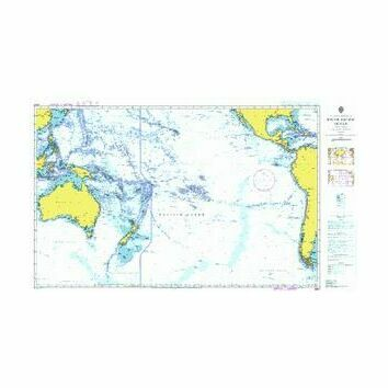 4007 South Pacific Ocean Admiralty Chart