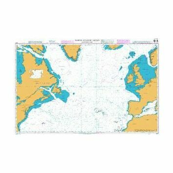 4011 North Atlantic Ocean - Northern Part Admiralty Chart