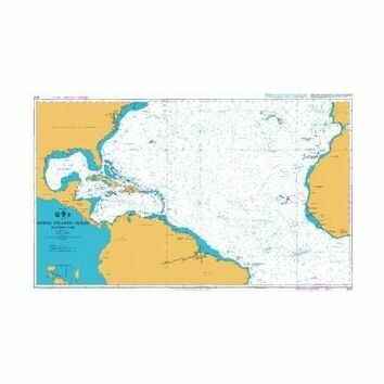 4012 North Atlantic Ocean - Southern Part Admiralty Chart