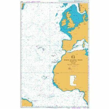 4014 North Atlantic Ocean - Eastern Part Admiralty Chart