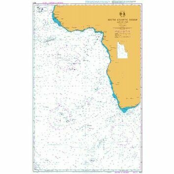 4021 South Atlantic Ocean - Eastern Part Admiralty Chart