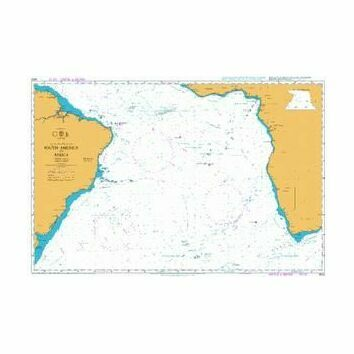 4022 South America to Africa Admiralty Chart