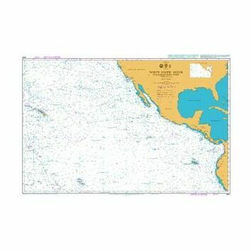 4051 North Pacific Ocean - South Eastern Part Admiralty Chart