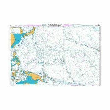 4052 North Pacific Ocean - South Western Part Admiralty Chart