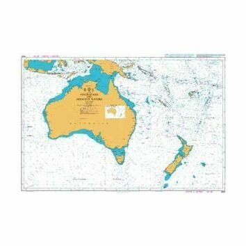 4060 Australasia and Adjacent Waters Admiralty Chart
