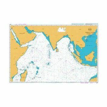 4071 Indian Ocean - Northern Part Admiralty Chart