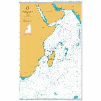4072 Indian Ocean - Western  Part Admiralty Chart