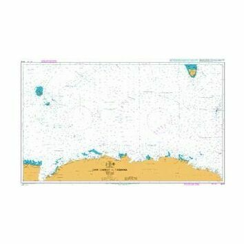 4074 Cape Darnley to Tasmania Admiralty Chart