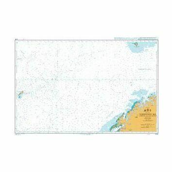 4100 Norwegian SeaNorway to Jan Mayen Admiralty Chart