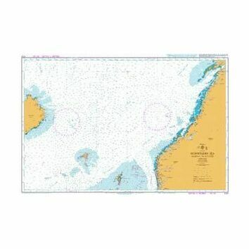 4101 Norwegian Sea Norway to Iceland Admiralty Chart