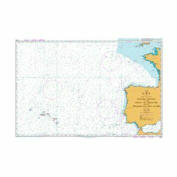 4103 English Channel to the Strait of Gibraltar and the Arquipelago dos Acores Admiralty Chart