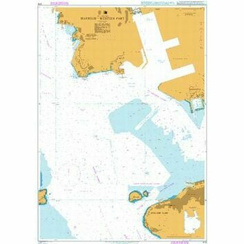 4119 Hong Kong, Harbour - Western Part Admiralty Chart
