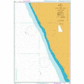 4133 Namibia, Sand Table Hill to Cape Cross Admiralty Chart