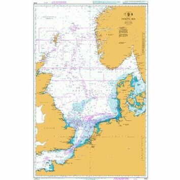 4140 North Sea Admiralty Chart