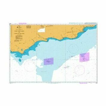 4153 Danger Point to Mossel Bay Admiralty Chart