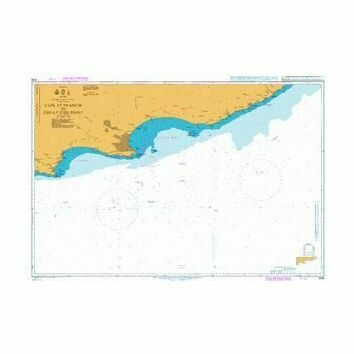 4156 Cape St Francis to Great Fish Point Admiralty Chart