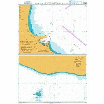 4158 Plans in Algoa Bay Admiralty Chart