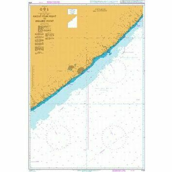 4159 Great Fish Point to Mbashe Point Admiralty Chart