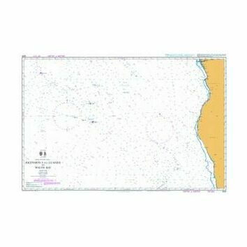 4203 Ascension I and Luanda to Walvis Bay Admiralty Chart
