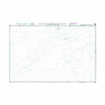 4206 Tristan da Cunha Group to Discovery Seamounts and South Georgia Rise Admiralty Chart