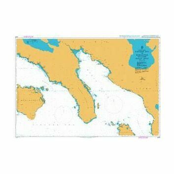 4488 Tayabas Bay to Burias Pass inc Ragay Gulf Admiralty Chart