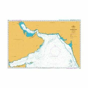 4705 Arabian Sea Admiralty Chart
