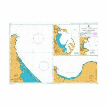 580 Al Hoceima- Melilla and Port Nador with Approaches Admiralty Chart