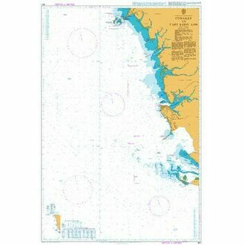 601 Conakry to Cape Saint Ann Admiralty Chart