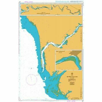 607 Riviere Saloum Admiralty Chart